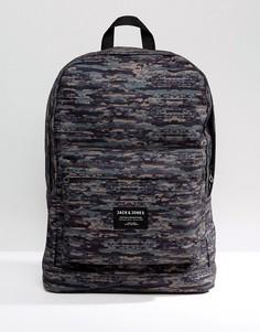 Камуфляжный рюкзак Jack & Jones - Зеленый