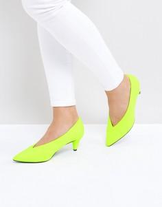 Туфли на среднем каблуке ASOS STRIKE - Зеленый