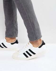 Белые кроссовки в стиле 80-х adidas Originals Superstar - Белый