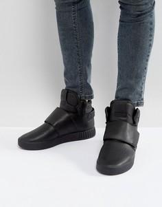 Черные кроссовки adidas Originals Tubular Invader - Черный