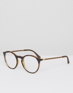 Круглые очки Ray-Ban RX7132 - Зеленый