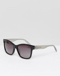 Черные солнцезащитные очки Karl Lagerfeld - Черный