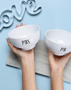 Миски Mr и Mrs от Sass & Belle - Мульти