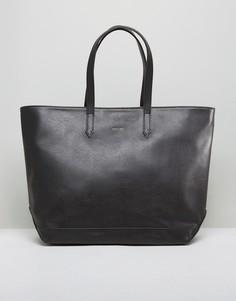 Черная сумка-тоут Matt & Nat Minimal - Черный