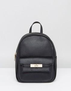 Мини-рюкзак из искусственной кожи Melie Bianco - Черный