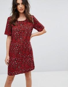 Платье с леопардовым принтом Vila - Мульти