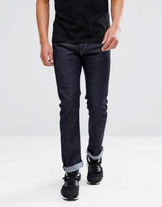 Прямые джинсы цвета индиго Diesel Waykee 084HN - Темно-синий