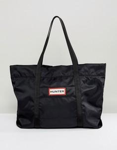 Черная нейлоновая сумка-тоут Hunter Original - Черный