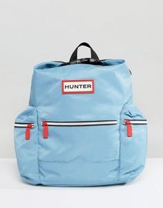 Светло-голубой нейлоновый мини-рюкзак Hunter Original - Синий