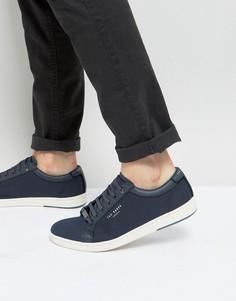 Кроссовки с принтом Ted Baker Ternur - Темно-синий