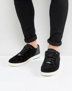 Замшевые кроссовки Ted Baker Xiloto - Черный