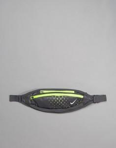 Маленькая сумка-кошелек на пояс Nike Running - Черный