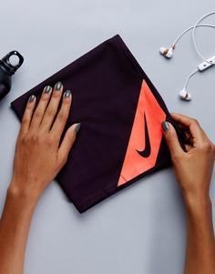 Маленькое полотенце с охлаждающим эффектом Nike - Черный