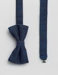 Фактурный галстук-бабочка Ted Baker - Синий