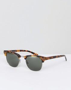 Коричневые солнцезащитные очки в стиле ретро Levis - Коричневый Levis®