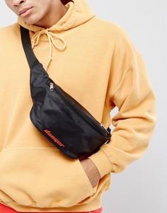Черная сумка-кошелек на пояс Granted - Черный