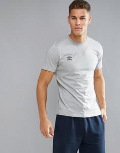 Футболка с логотипом Umbro - Серый