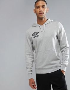 Худи с логотипом Umbro - Серый