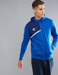 Куртка на молнии с капюшоном Umbro - Синий