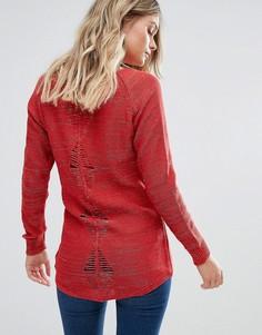 Джемпер с вырезами на спине Pussycat London - Красный