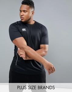 Черная футболка Canterbury PLUS Team Dry E546667-989 - Черный