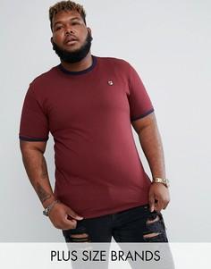 Бордовая футболка Fila Vintage PLUS - Красный