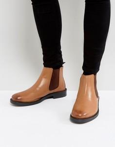 Светло-коричневые кожаные ботинки челси Silver Street - Рыжий