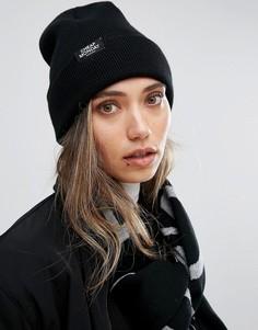 Черная шапка-бини с логотипом Cheap Monday - Черный