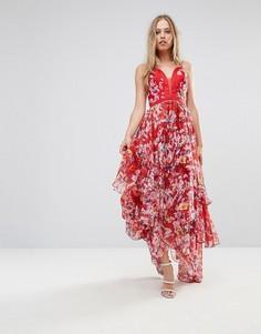 12fd655e78a4b1e Женские длинные платья в пол (макси) с принтом – купить в Lookbuck