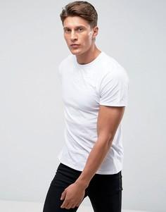 Фактурная футболка Threadbare - Белый