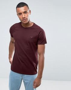 Меланжевая футболка Threadbare - Красный