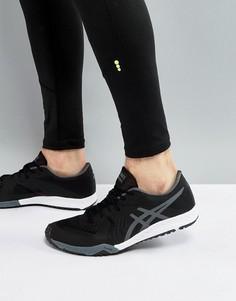 Черные кроссовки Asics Weldon X Training S707N-9097 - Черный