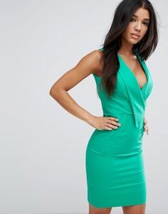 Платье-футляр Paper Dolls - Зеленый