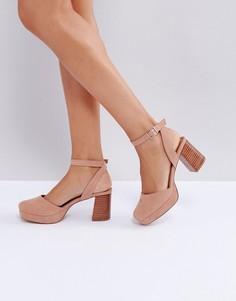 Туфли на каблуке ASOS OSTON - Бежевый
