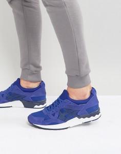 Синие кроссовки Asics Gel-Lyte V - Синий