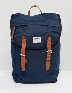 Темно-синий рюкзак Sandqvist Hans - Темно-синий