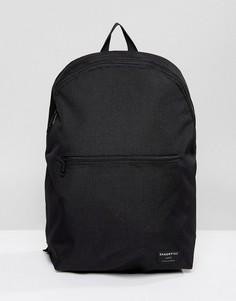 Черный рюкзак из ткани рипстоп Sandqvist Oliver - Черный