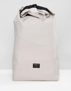 Серый рюкзак из ткани рипстоп Sandqvist Lova - Серый