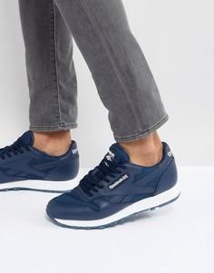 Кожаные кроссовки Reebok Classic NM - Синий