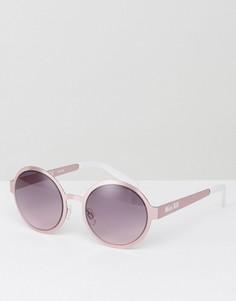 Круглые солнцезащитные очки с затемненными линзами Miss KG - Розовый