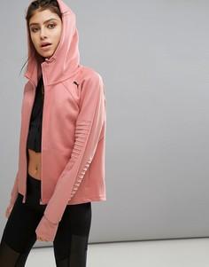 Розовая куртка Puma Evostripe - Розовый