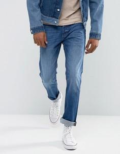 Прямые джинсы Wrangler Spencer - Синий