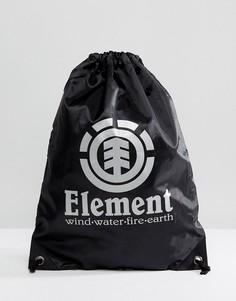 Черная спортивная сумка Element Buddy - Черный