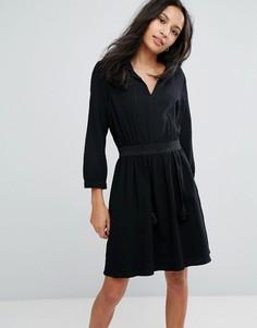 Платье с завязкой Deby Debo Manu - Черный