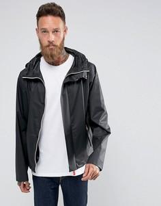 Черная куртка с капюшоном Hunter Raincheater - Черный