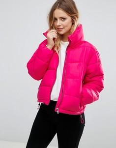 Дутая куртка Glamorous - Розовый