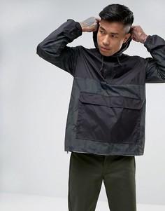 Водонепроницаемая куртка с камуфляжным принтом Element Alder - Черный