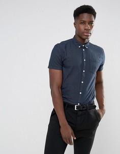 Рубашка с короткими рукавами Minimum Bellino - Темно-синий