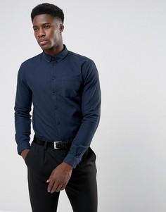Рубашка Minimum Nacka - Темно-синий