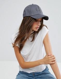 Кепка с логотипом Calvin Klein - Серый